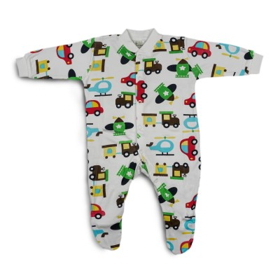 Chilli Padi Bamboo/Cotton Pyjamas (Romper)