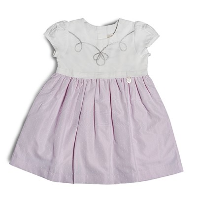 T&T Toddler Girl Pink Woven Sleeveless Dress 815168-313