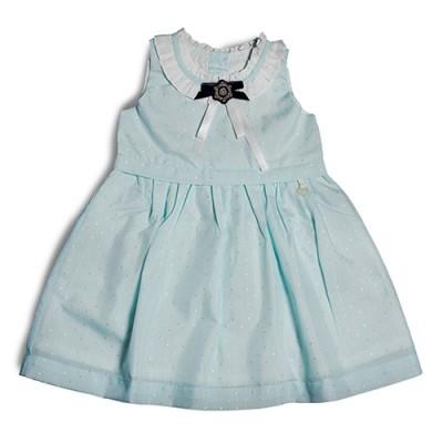 T&T Toddler Girl Blue Sleeveless Dress 815174-311