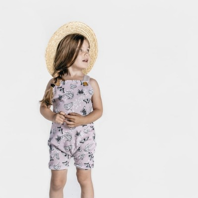Aster & Oak Summer Collection Butterfly Harem Jumpsuit