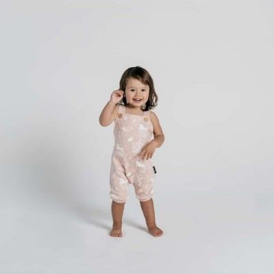 Aster & Oak Summer Collection Peach Circus Harem Jumpsuit