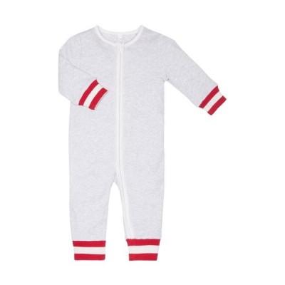 Baby Mori Festive Zip-up Sleepsuit