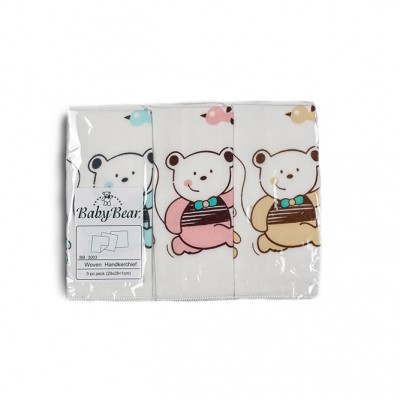 Baby Bear 3-pc Handkerchiefs