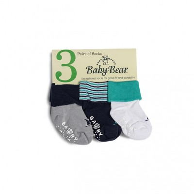 Baby Bear 3-pc Infant Socks