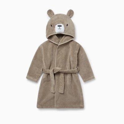 Baby Mori Bear Hooded Bath Robe