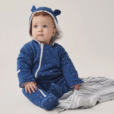 Baby Mori Night sky Snugsuit