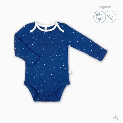 Baby Mori Night Sky Kimono Bodysuit