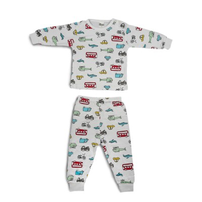 Chilli Padi Bamboo/Cotton 2-pc Set (0-7yo)