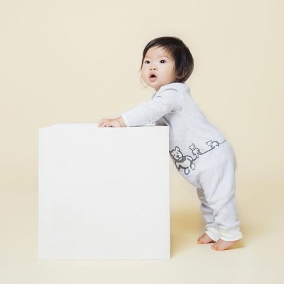 MORI X Central Saint Martins - Animal Family Snoozy Sleepsuit