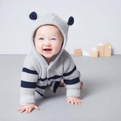 Baby Mori Knitted Coat BM9001