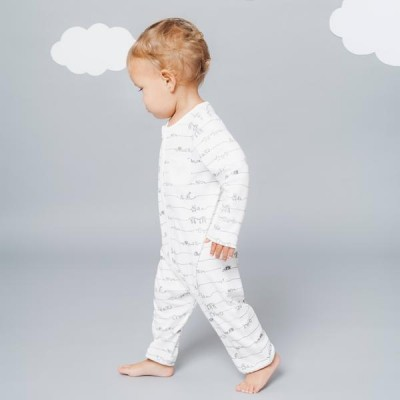 MORI X Central Saint Martins - Animal Family Zip Sleepsuit