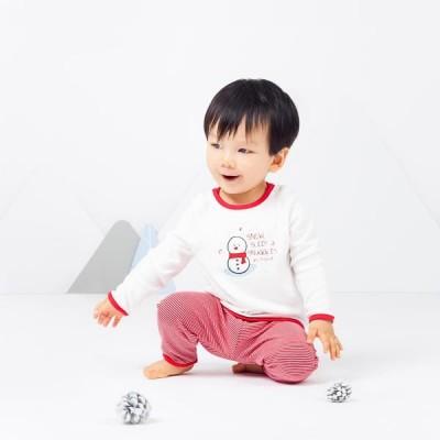 Baby Mori Festive PJs Set BM8000 A
