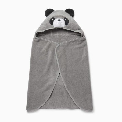Baby Mori Panda Hooded Toddler Towel