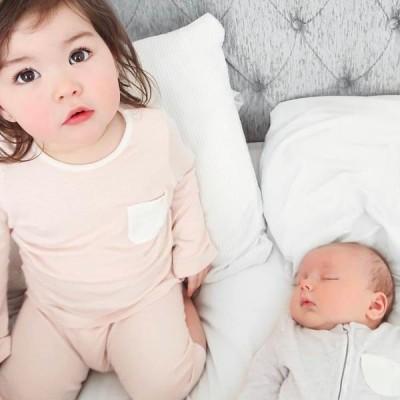 Baby Mori Everyday Long Sleeve Tee BM7000